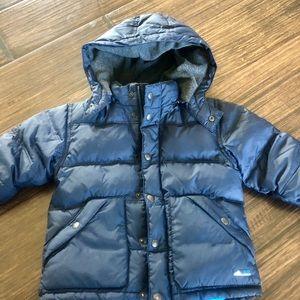 Boys 3T Baby Gap fleece down jacket.